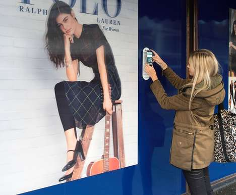 Interactive Window Displays - This Department Store Used Interactive Displays to Track Customer Data