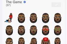 Rapper Emoji Apps - The Game Launched a Collection of Hip-Hop Heavy Emojis