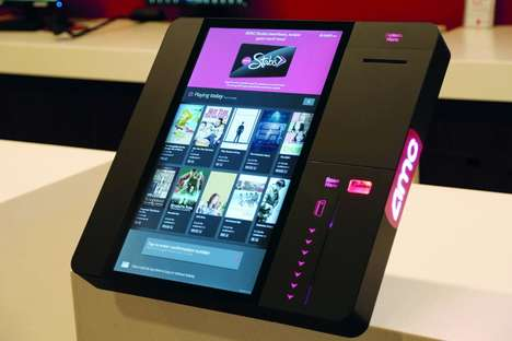 Cinema Payment Marketing Systems - AMC Theaters Has Rolled Out Pyramid polytouch POS Kiosks