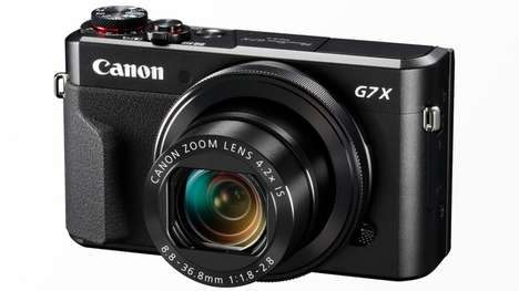 Comprehensive Connected Cameras - This Canon Camera Lets You Transmit and Share Photos Wirelessly