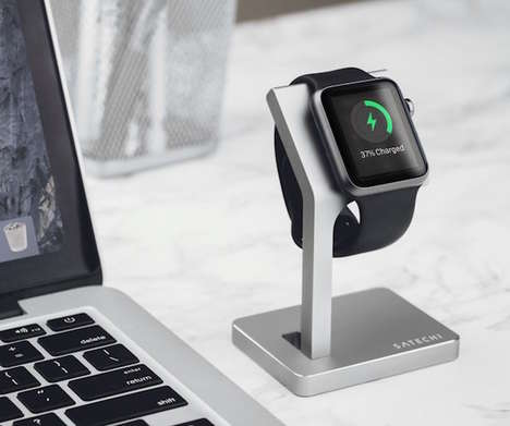 Sculptural Smartwatch Stands