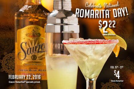Celebratory Cocktail Promotions