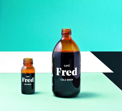 Clinical Cold Brew Branding