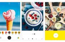Food-Enhancing Photography Apps