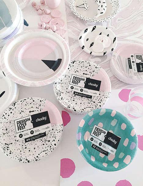 Blogger-Designed Paper Plates