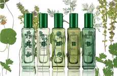Herb-Inspired Fragrances - Jo Malone's Herb Garden Perfume Captures Naturalistic Freshness