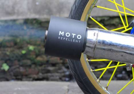 Mosquito-Repelling Motorcycle Gadgets - This Exhaust Accessory is Designed to Eliminate Deathly Bugs