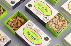 Ultra-Fresh Pistachio Branding - Pistachio Provenance Boasts Vibrant Packaging That Oozes Freshness