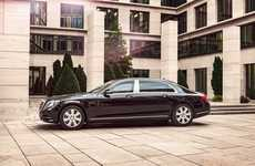 Bulletproof Luxury Cars - The Mercedes-Maybach S 600 Guard Lets VIPs Travel in Safety and Comfort