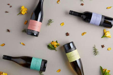 Astronomy-Inspired Vino Branding