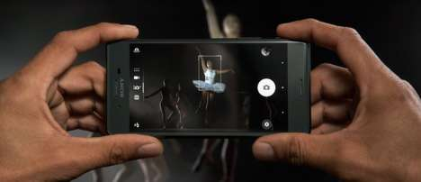 Predictive Camera Phones - The Sony Xperia X Performance Phone's Camera Features Hybrid Autofocus