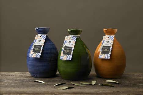 Earthy Olive Oil Packaging