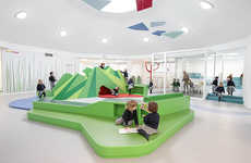 Mind-Stimulating Classroom Designs - This Kindergarten Interior is Designed with Learning Zones