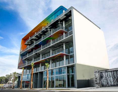 Artwork-Incorporated Architecture