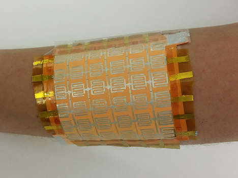 Sensory Paper Skins - A Team of Researchers Created an Artificial Skin from Household Items