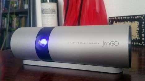 Cinematic Portable Projectors
