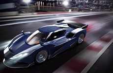Fierce Hybrid Supercars - The Arash AF10 Hybrid Sports Car Blends Fashion with Eco-Friendliness