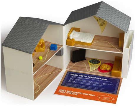 Tabletop 3D-Printed Houses