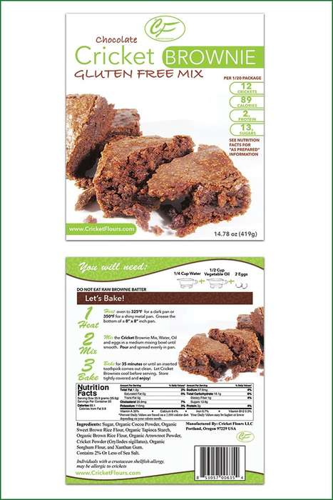 Insect-Based Brownie Mixes