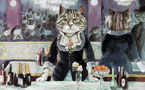 Classical Cat Portraits - Susan Herbert Has Reimagned Various Cats in Historic Paintings