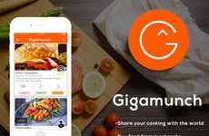 Food Discovery Apps - The 'Gigamunch' App Enables Users to Make and/or Share a Homemade Meal