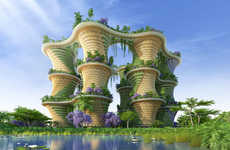 Food-Growing Towers