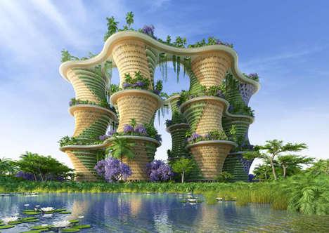 Food-Growing Towers
