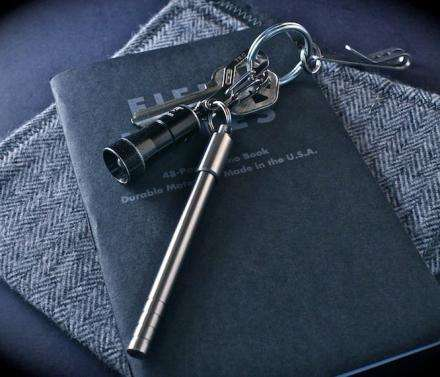 Titanium Keychain Writing Utensils