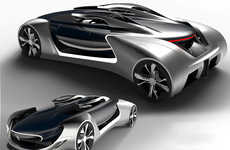 Centrifugal Concept Cars - The Jaguar 'Freerunner' Sports Car Design Features a Rotating Cabin
