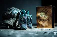 Colorful Impressionist Sneakers - The P.V.S. x New Balance Sneaker Boasts a Paint-Splattered Design