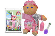 Lifelike LCD Dolls - This Lifelike Doll Features LCD Screen Eyes For Added Expression