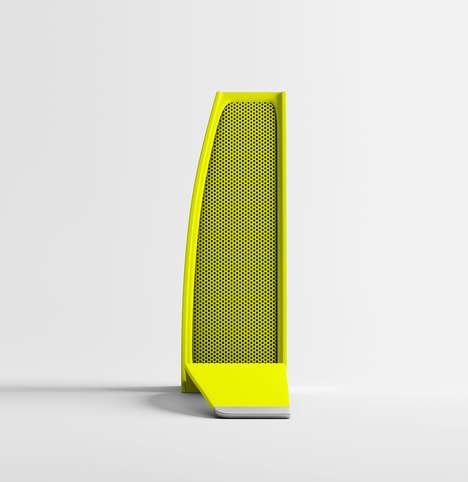 Banana-Inspired Speakers