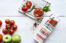 Spicy Tomato Juice Blends - This Line of Organic Vegetable Juices Now Includes a Spicy Tomato Flavor