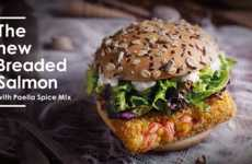 Gourmet Fish Sandwiches - The Latest Dish from McDonald's Singapore Features Wild-Caught Salmon