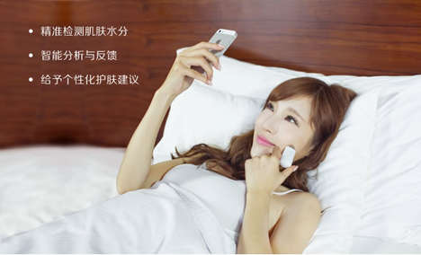 Skin Moisture Detectors - 'Mlizhi' is a Device That is Used to Detect Skin Moisture Levels