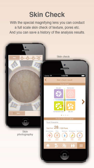 Skin Analysis Apps - 'Beautecam' Works with a Magnifying Phone Attachment to Look at Skin Closely