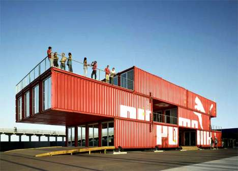 Traveling Shipping Container Stores