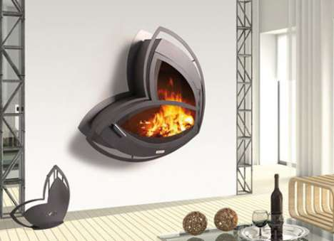Dramatic Fireplaces