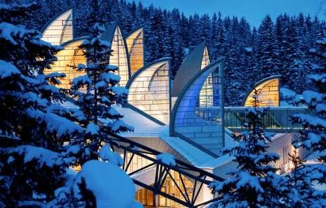 Breathtaking Mountainside Spas