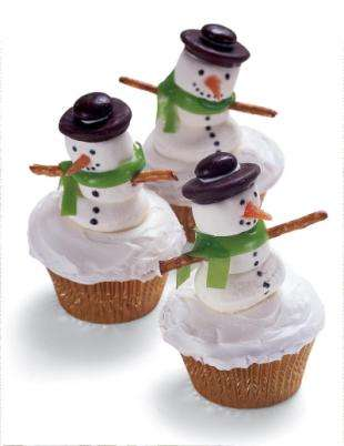 Clever Christmas Cupcakes