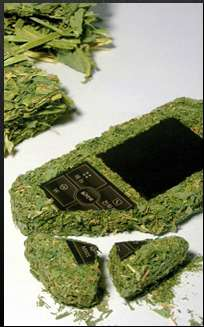 Mobile Phones Made from Hay