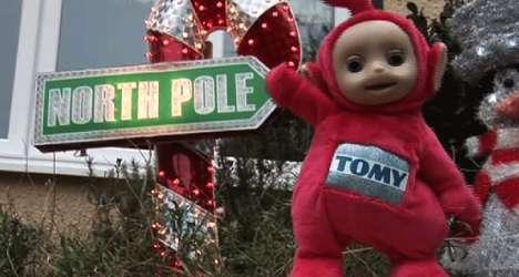 Toddler-Themed Christmas Decor