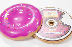 Donut Cd Cases - Mmmm, The Simpson's Movie Soundtrack Packaging