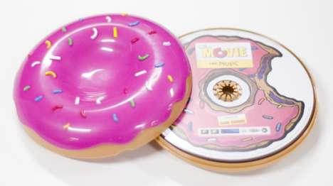 Donut Cd Cases