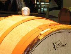 Bedazzled Wine Barrels