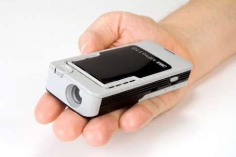 Palm-Sized Projectors
