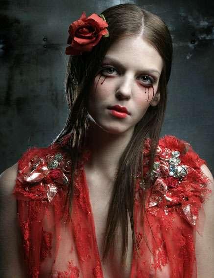 Disturbing Fashion Photography