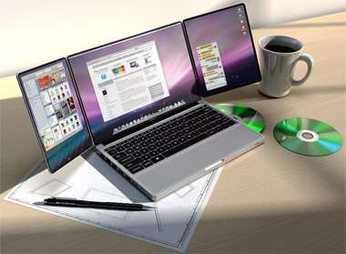 Extended Laptop Screens