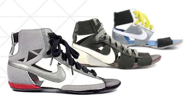 Remixed \u0026 Recut' Nike Footwear by Nancy Wu