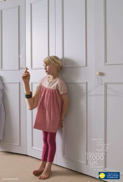 Child Shockvertising in PSAs